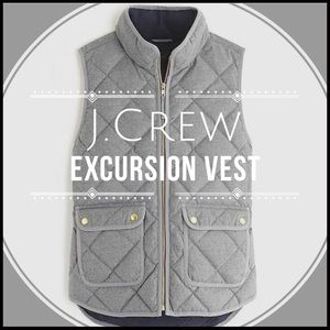 JCrew Quilted Puffer VestNWT for sale